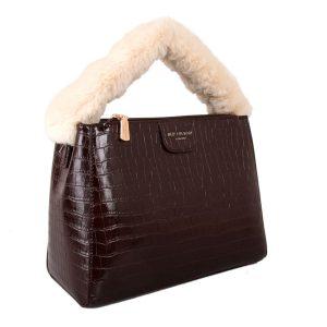 Brown Fluffy Handle   Grab Bag