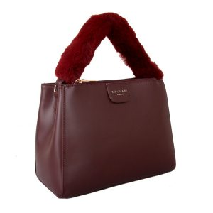Burgundy Fluffy Handle | Grab Bag