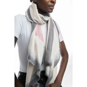 Multi Grey Scarf