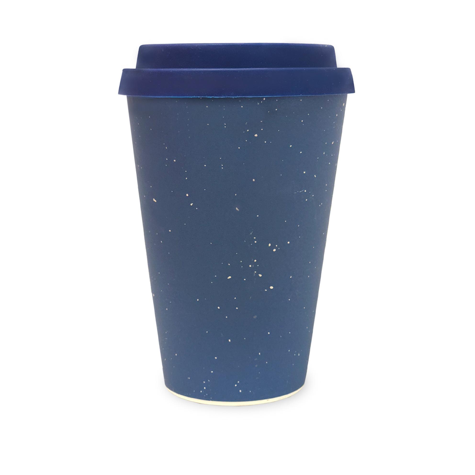 Blue   Bamboo Eco Mug