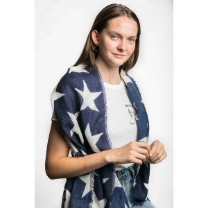 Blue Star Scarf
