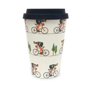 Cyclist | Bamboo Eco Mug
