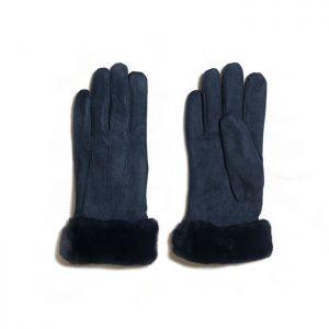 Dark Blue Gloves