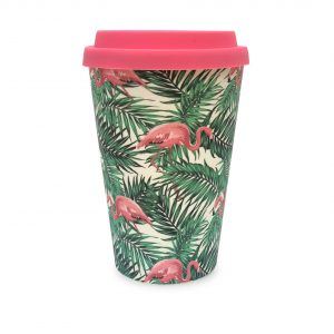 Flamingos | Bamboo Eco Mug