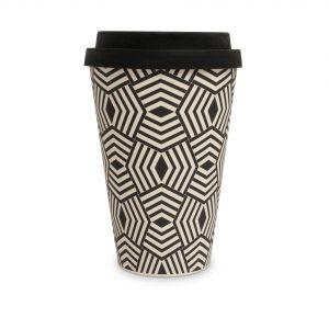 Geometric Bamboo Eco Mug