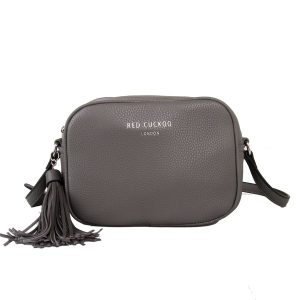 Grey Tassel | Cross Body Bag