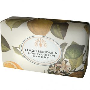 Lemon Mandarin Vintage Wrapped Soap