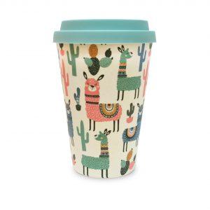 Llama | Bamboo Eco Mug