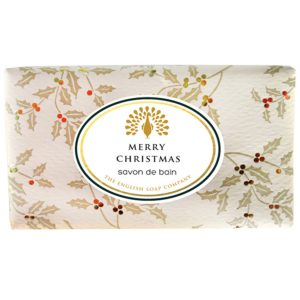 Merry Christmas Vintage Wrapped Soap