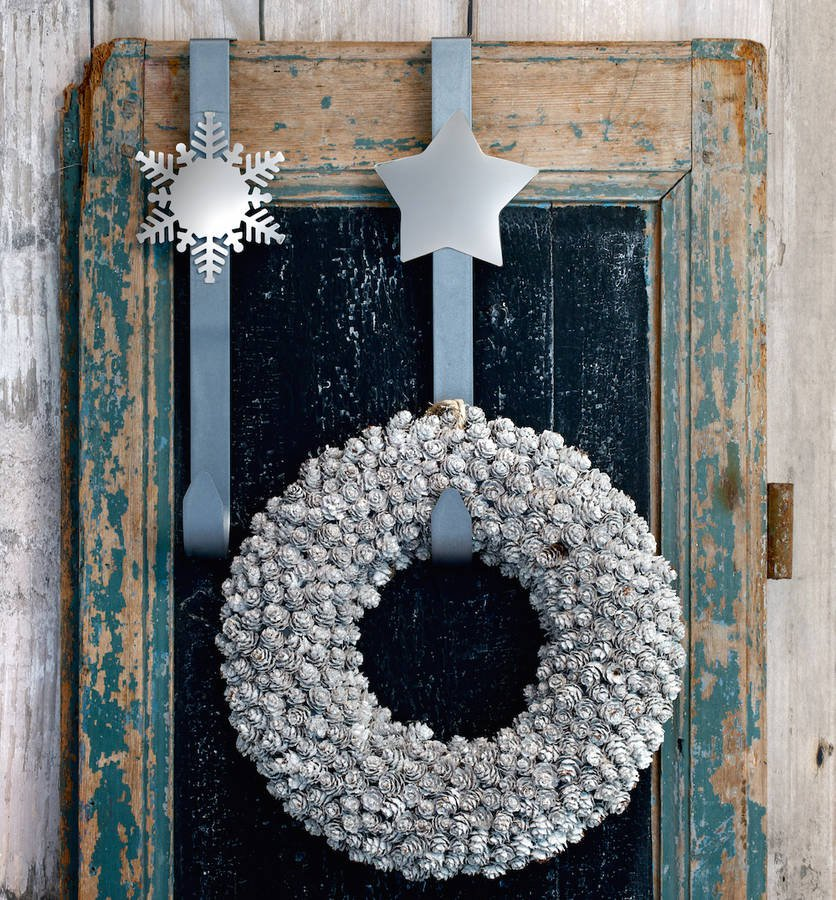 Nickel & Silver | Wreath Hook