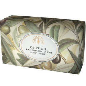 Olive Oil Vintage Wrapped Soap