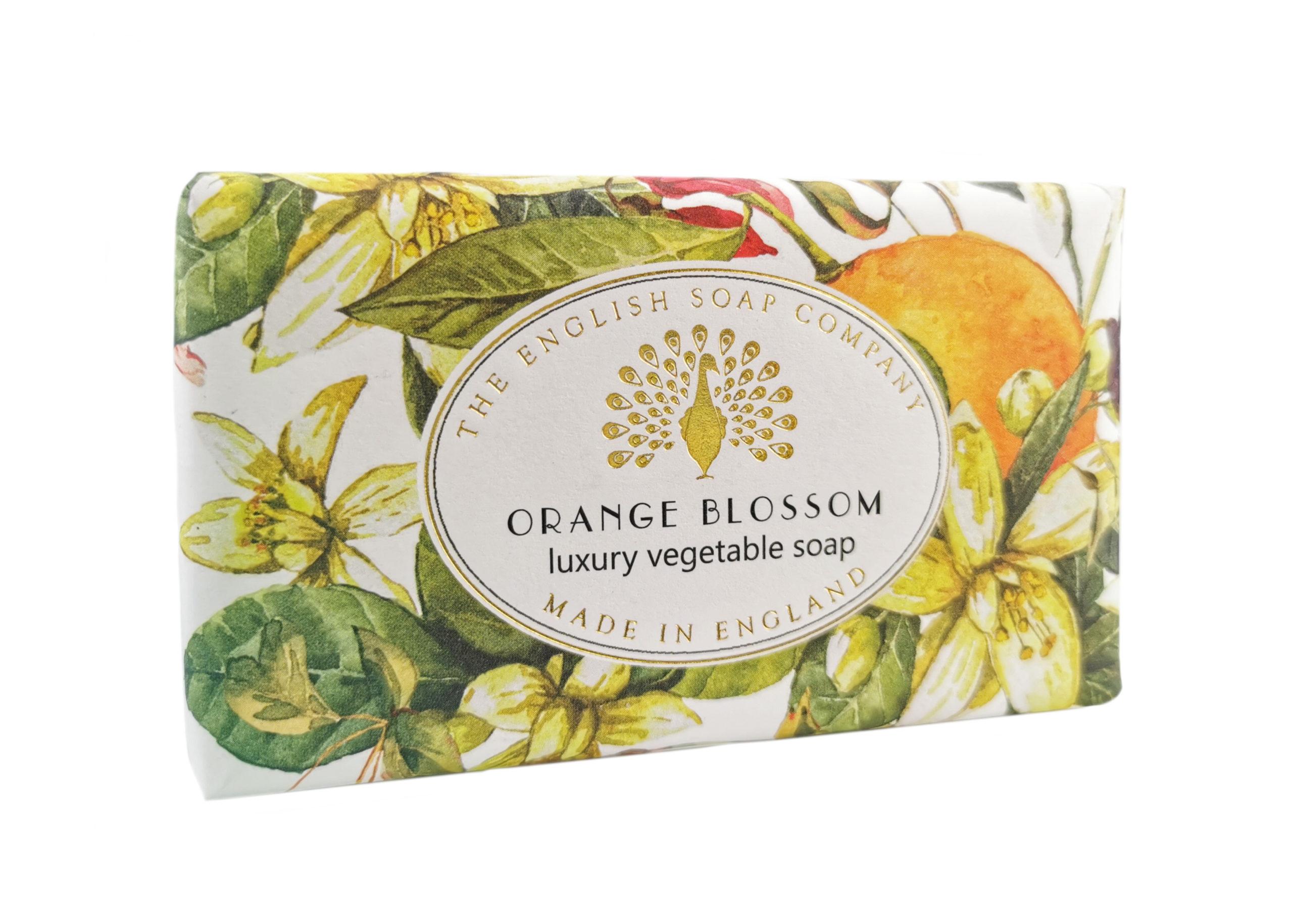 Orange Blossom Vintage Wrapped Soap