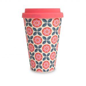 Pink Flower | Bamboo Eco Mug
