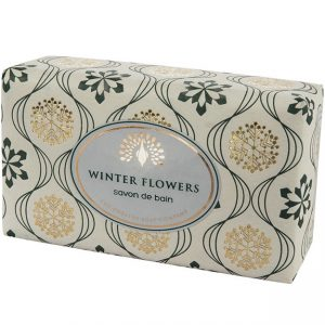 Winter Flowers | Vintage Wrapped Soap