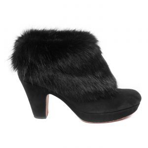 Jet | Faux Fur Shooves
