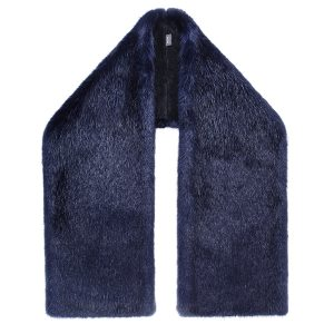 Midnight | Faux Fur Stole