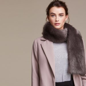 Faux Fur Scarves & Lapel Collars