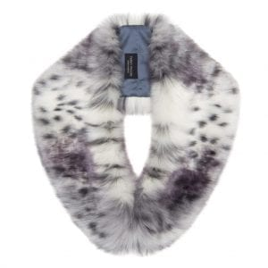 Arctic Leopard | Faux Fur Hugo Collar