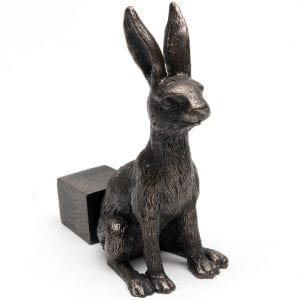 Bronze Hare Set of 3