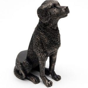 Bronze Labrador Set of 3