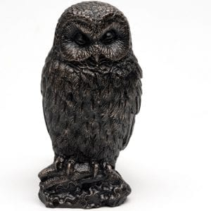 Bronze Owl Set of 3