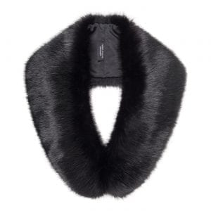 Jet | Faux Fur Hugo Collar