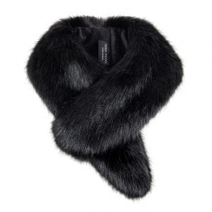 Jet | Faux Fur Vintage Collar