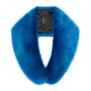 Ocean Blue | Faux Fur Hugo Collar