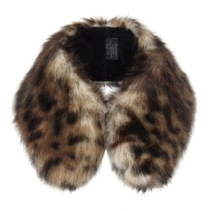 Ocelot | Faux Fur Shirt Collar