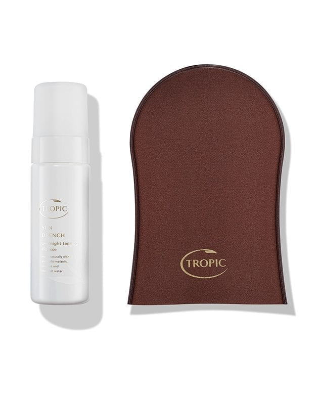 SUN DRENCH | OVERNIGHT TANNING MOUSSE & TANNING MITT