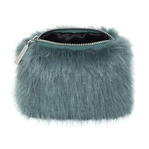 Sea Green | Faux Fur Coin Purse