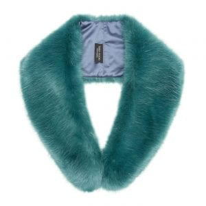 Sea Green | Faux Fur Hugo Collar
