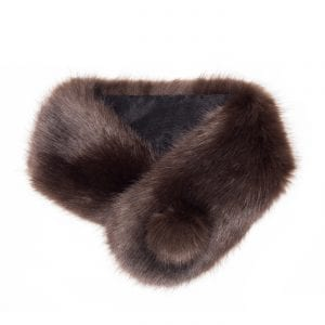 Treacle | Faux Fur Pom Button Collar