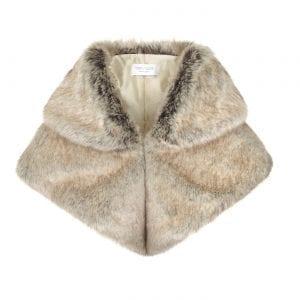 Truffle | Faux Fur Bridal Gregory Collar