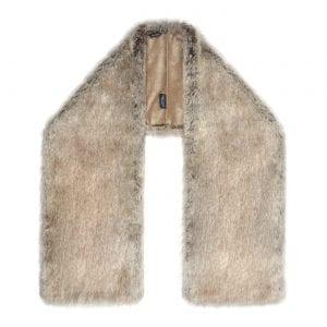 Truffle | Faux Fur Square Stole