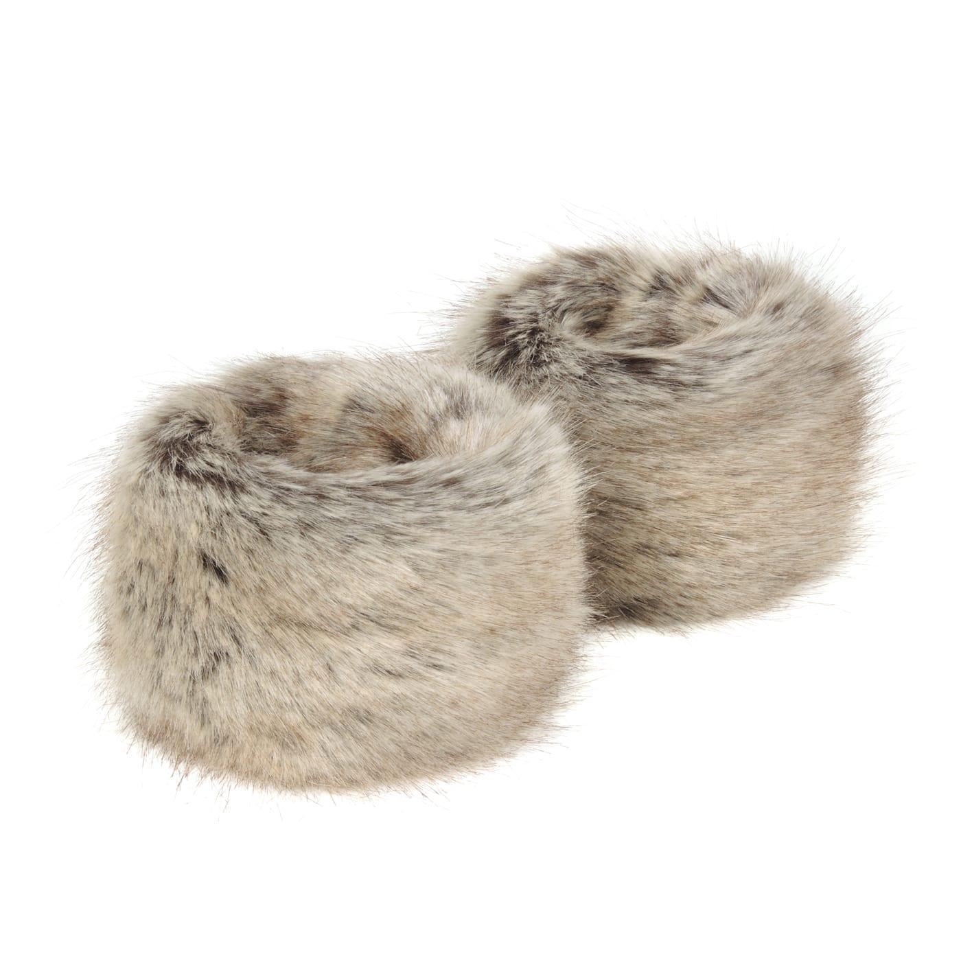 Truffle | Faux Fur Wrist Warmers