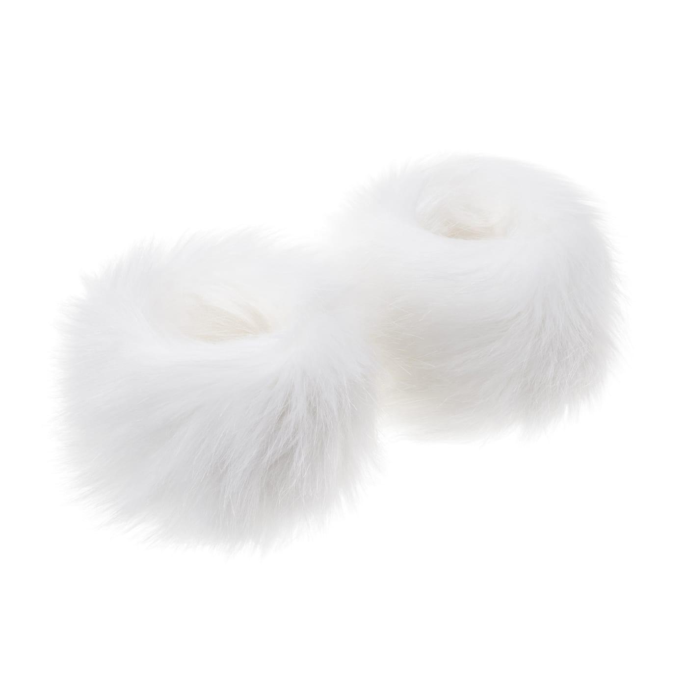 Whisper | Faux Fur Wrist Warmers