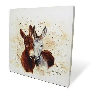 COLOURFUL JACK & DIANE | BOX CANVAS