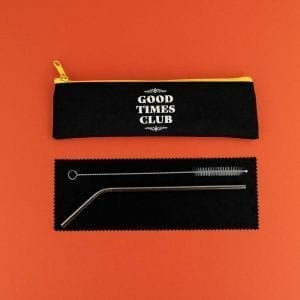 Good Times Club | Straw Set