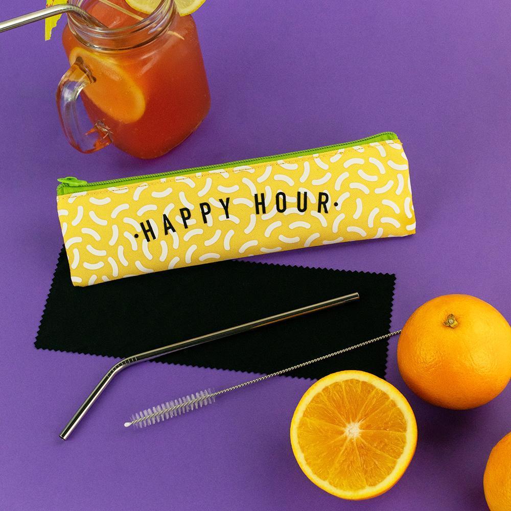 Happy Hour | Straw Set