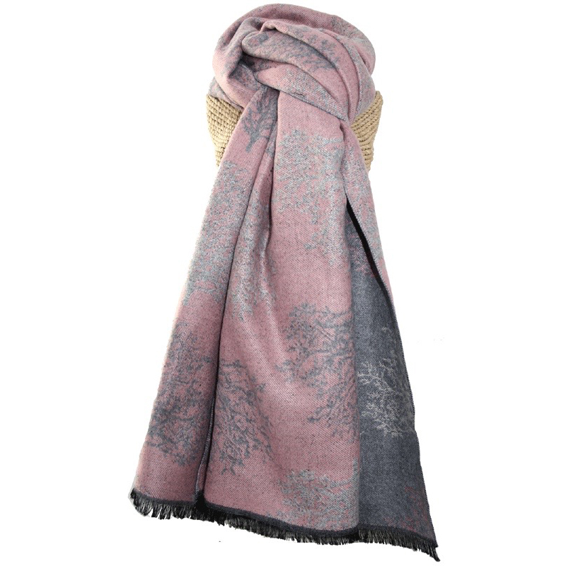 Terry Trees Pink Scarf