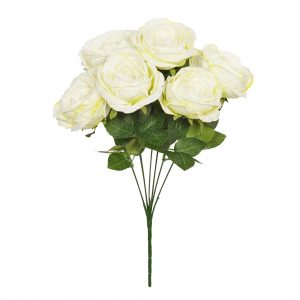 48cm Cream Garden Rose