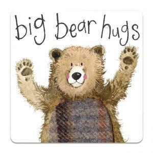 BIG BEAR HUGS   COASTER