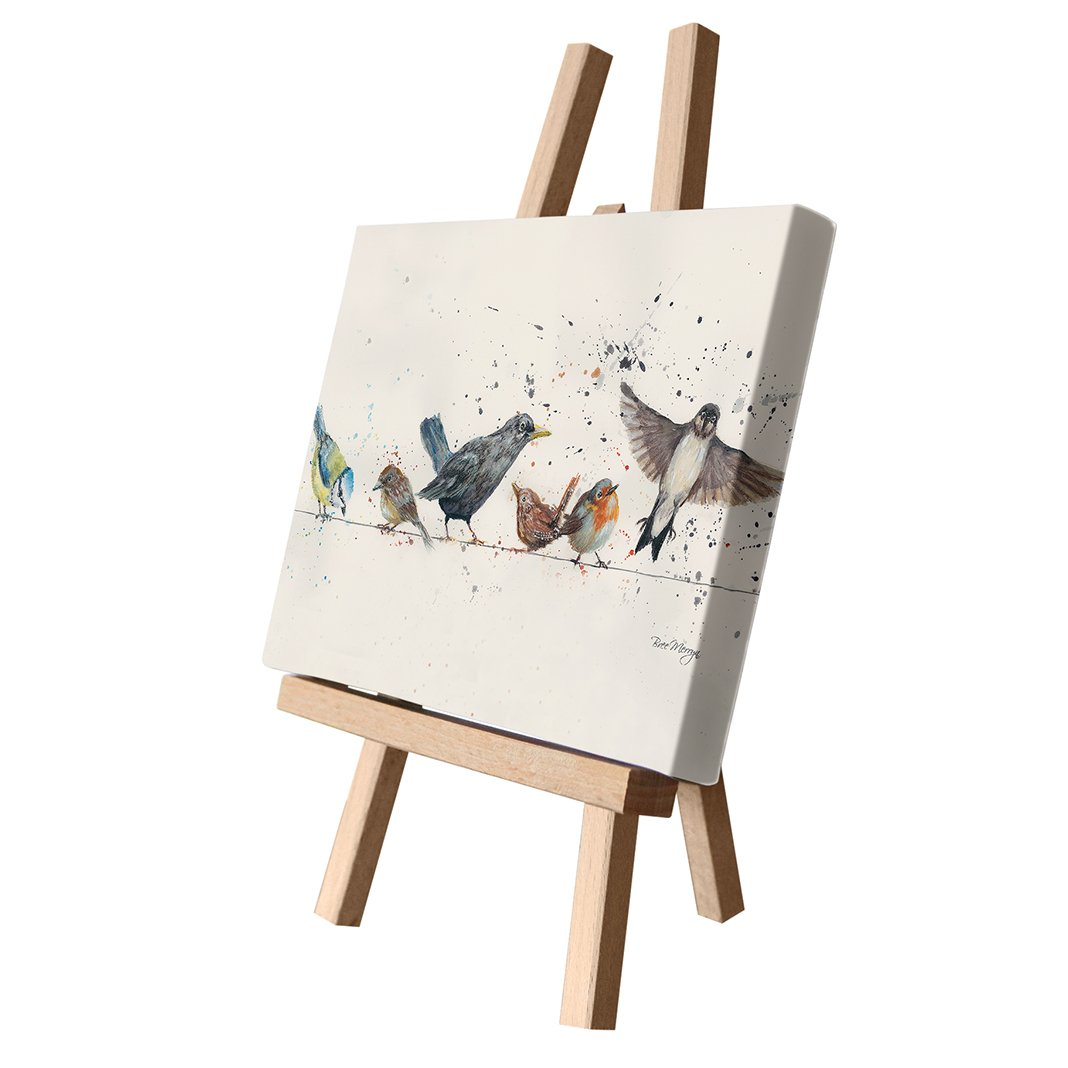 BIRDS ON A WIRE | CANVAS CUTIE