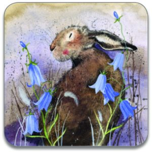 HARE & BLUEBELL | COASTER