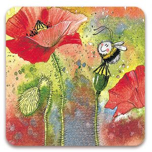 POPPY | BEE COASTER