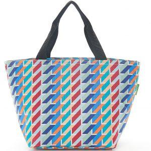 Colour Geometric Lunch Bag
