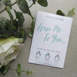 From Me To You | Face Mask