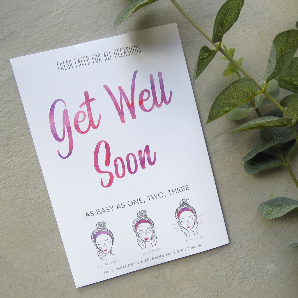 Get Well Soon | Face Mask