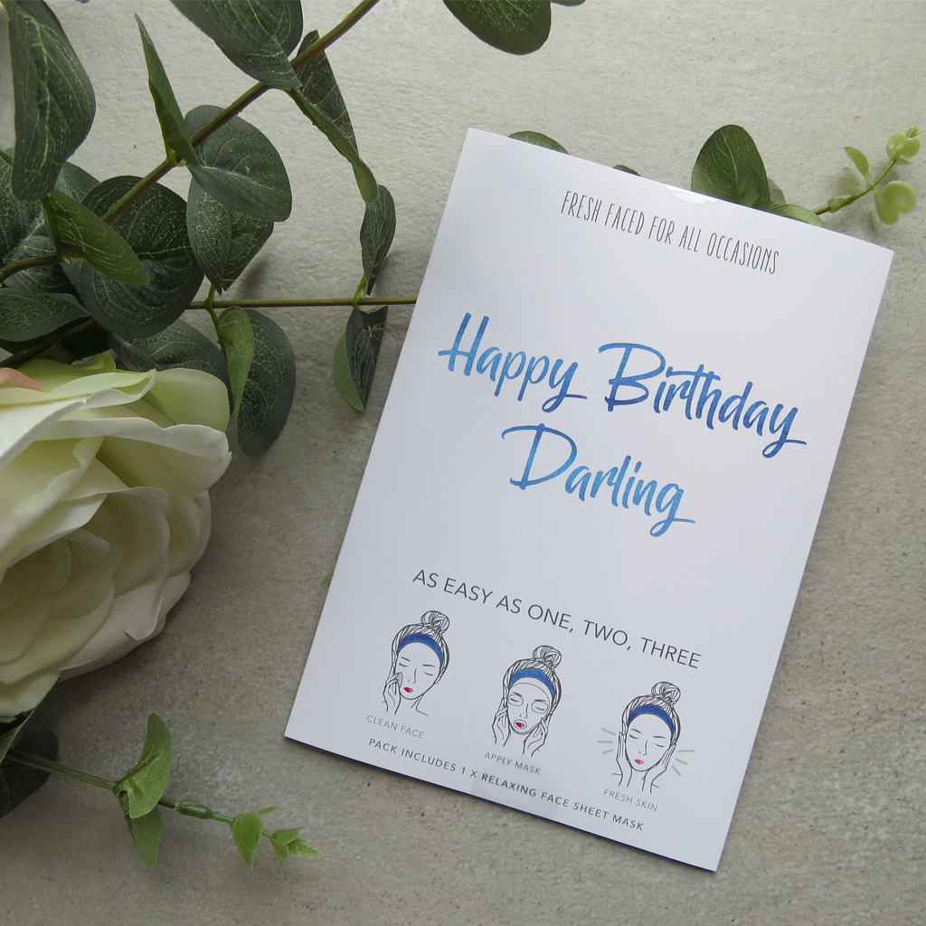 Happy Birthday Darling | Face Mask